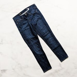 J. Crew Toothpick Jeans - Medium wash